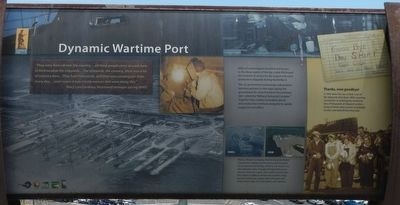 Dynamic Wartime Port Marker image. Click for full size.