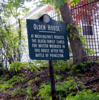 Olden House Marker image. Click for full size.