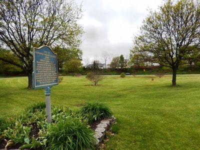 Site of Governor William Franklin's Home Marker image. Click for full size.