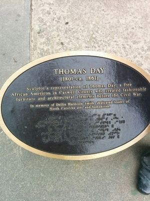 Thomas Day Marker image. Click for full size.