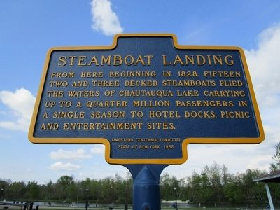 Steamboat Landing Marker image. Click for full size.
