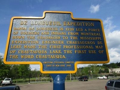 De Longueuil Expedition Marker image. Click for full size.
