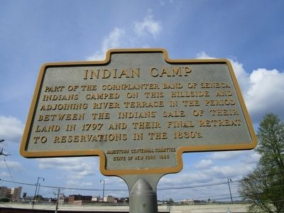 Indian Camp Marker image. Click for full size.