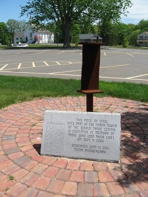 Middlefield 9/11 Memorial image. Click for full size.