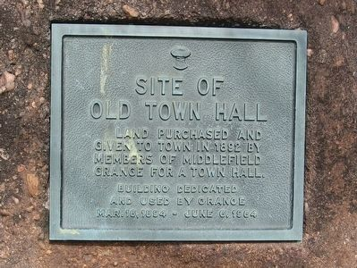 Site of Old Town Hall Marker image. Click for full size.