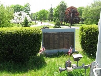 Middlefield-Rockfall World War II and Korean Conflict Monument image. Click for full size.