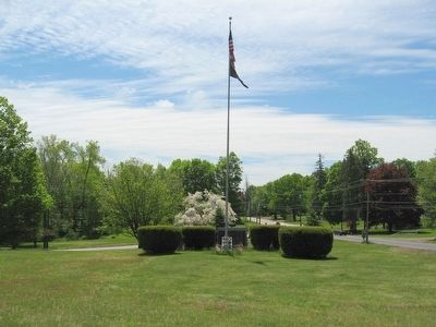 Middlefield Veterans Monuments image. Click for full size.