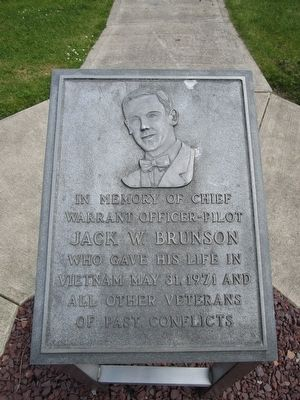 Jack W. Brunson Memorial image. Click for full size.