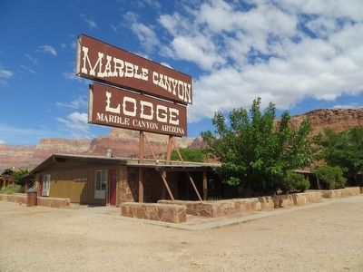 Marble Canyon Lodge image. Click for full size.