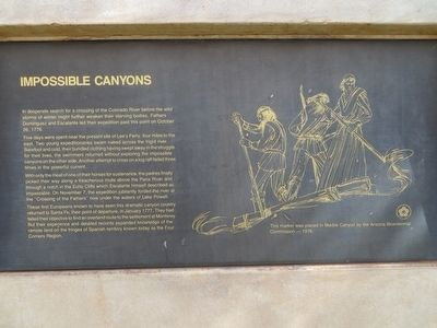 Impossible Canyons Marker image. Click for full size.