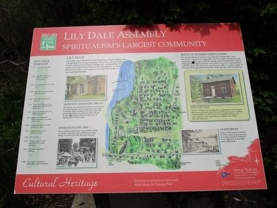 Lily Dale Assembly Marker image. Click for full size.