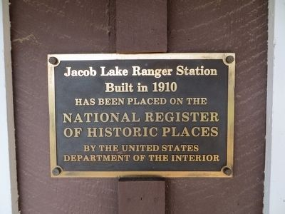 Jacob Lake Ranger Station Marker image. Click for full size.