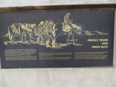 Prickly Pears and Pinion Nuts Marker image. Click for full size.