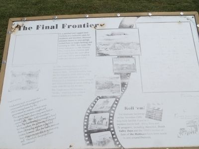 The Final Frontier Marker image. Click for full size.