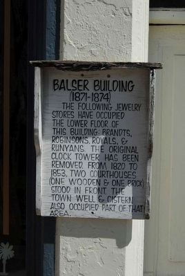 Blaser Building (1871-1874) Marker image. Click for full size.