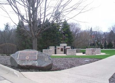 Kane County Veterans Memorial image. Click for full size.