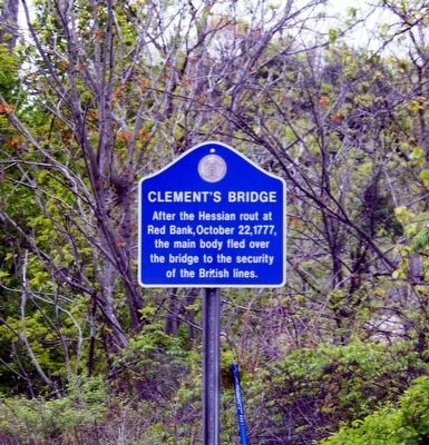 Clement's Bridge Marker image. Click for full size.