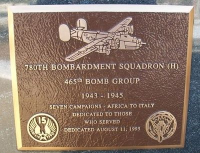 780th Bombardment Squadron (H) Marker image. Click for full size.
