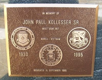 John Paul Kollesser Sr Marker image. Click for full size.