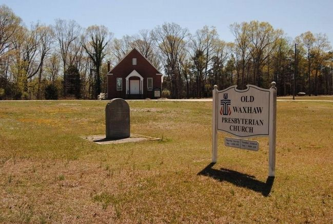 Waxhaw Presbyterian Church Monument Marker image. Click for full size.