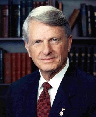 Georgia Governor Zell Miller image. Click for full size.