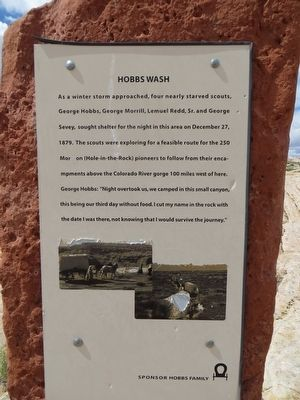 Hobbs Wash Marker image. Click for full size.