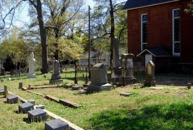Lancasterville Presbyterian Church Cemetery image. Click for full size.