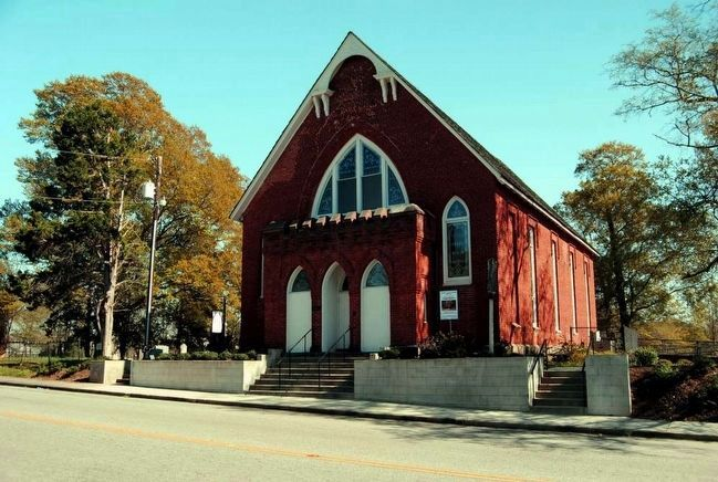 Lancasterville Presbyterian Church image. Click for full size.