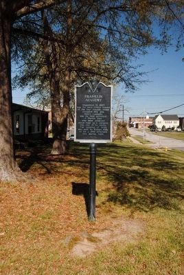Franklin Academy / Oldest Continuous Public School Site in Lancaster County Marker image. Click for full size.