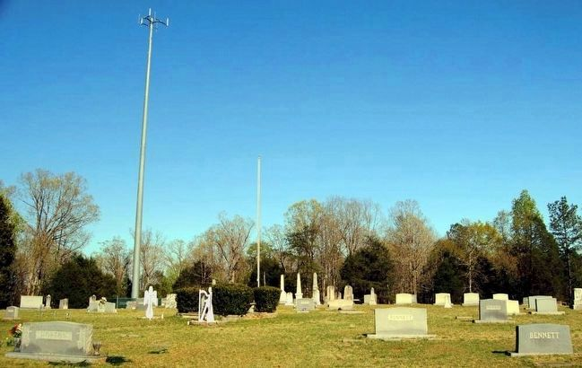 Camp Creek Methodist Church Cemetery image. Click for full size.