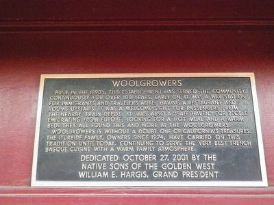 Woolgrowers Marker image. Click for full size.