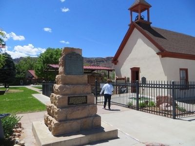 Elk Mountain Mission Marker image. Click for full size.