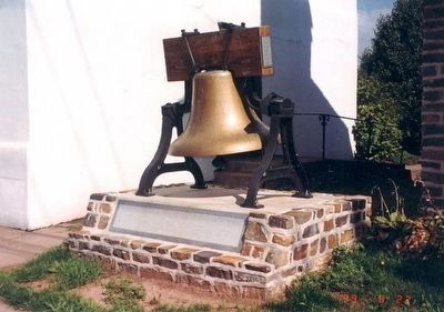 Replica of the Liberty Bell image. Click for full size.