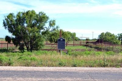 Site of Hitson Community Marker image. Click for full size.