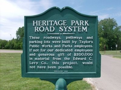 Heritage Park Road System Marker image. Click for full size.