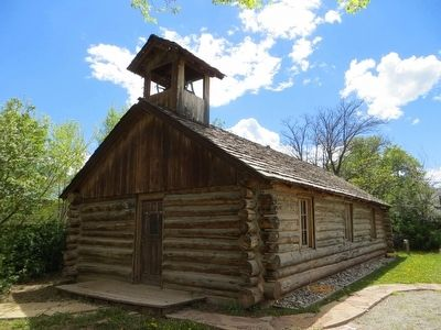 Old Log Church image. Click for full size.