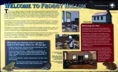 Welcome to Froggy Hollow Marker image. Click for full size.