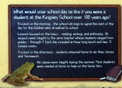 What would your school day be like image. Click for full size.
