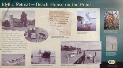 Idyllic Retreat — Beach House on the Point Marker image. Click for full size.