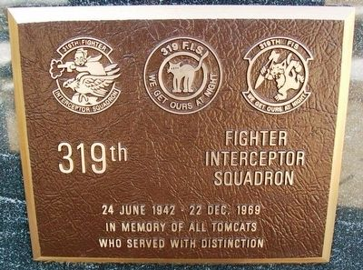 319th Fighter Interceptor Squadron Marker image. Click for full size.