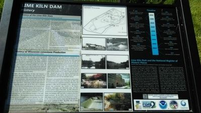 Lime Kiln Dam Marker image. Click for full size.