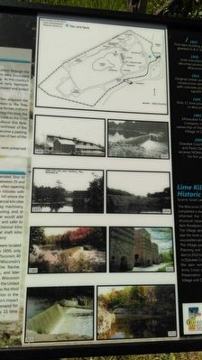 Lime Kiln Dam Marker Photos image. Click for full size.