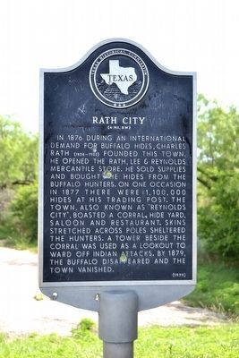 Rath City Marker image. Click for full size.