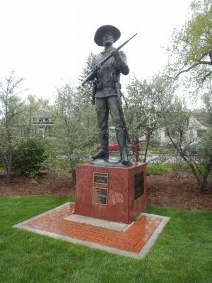 Buffalo Soldier statue by Chris Navarro image. Click for full size.