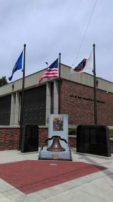 Port Washington Fire Department Memorial image. Click for full size.