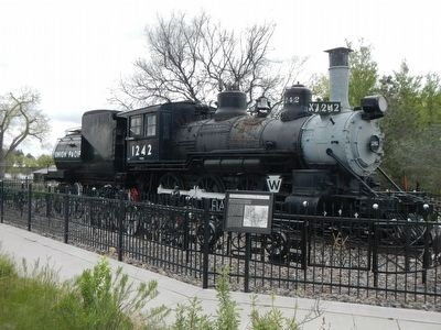 Union Pacific Steam Engine #1242 image. Click for full size.