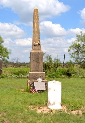 Grave Site of Sylvester Adams image. Click for full size.