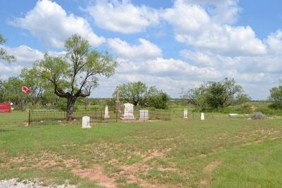 Grave Site of Sylvester Adams in Northwest Corner of Cemetery image. Click for full size.