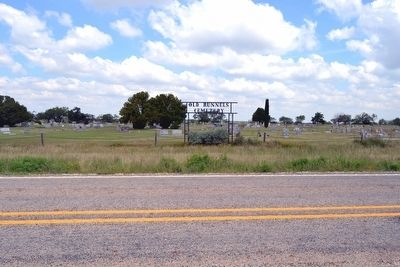 Old Runnels Cemetery image. Click for full size.