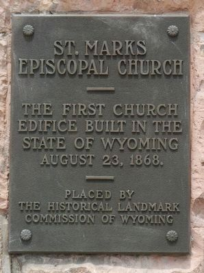 St. Marks Episcopal Church Marker image. Click for full size.